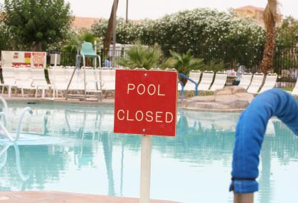 Pool Closing in Hughson CA by EZ Pool Service