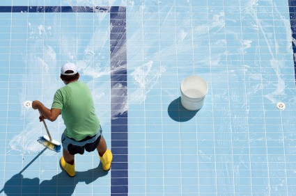 Pool Acid Washing in Turlock CA by EZ Pool Service
